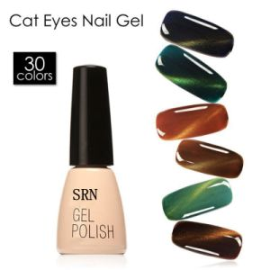 Multi-Color Soak off Nail Gel Polish Cat Eye UV&LED Shining Long Lasting Nail Polish pictures & photos