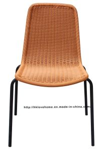 Replica Outdoor Indoor Leisure Metal Steel Rattan Chair pictures & photos
