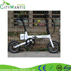 Folding E-Bike (IDEWALK F1) Electric Bicycle with Aluminum Alloy Frame pictures & photos