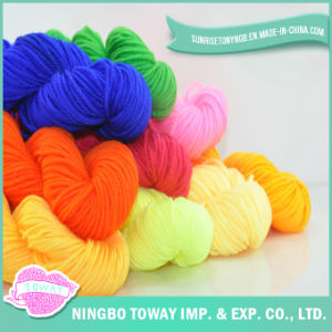 Super Chunky Hand Knitting Yarn 100% Acrylic Knitting Yarn (T002) pictures & photos