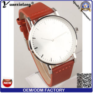 Yxl-094 Fashion Watch Women Watch Vogue Charming Leather Watch Stainless Steel Backcase Ladies Wrist Watch pictures & photos