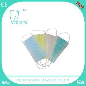 Disposable Earloop/Tie-on Non-Woven Face Mask
