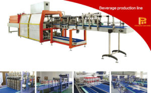 20b/M Linear Type PE Film Shrink Wrapping Machine pictures & photos