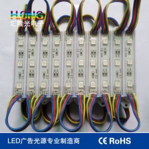 RGB 5050 Multicolor Waterproof LED Module 0.72W pictures & photos
