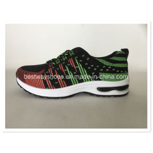 Men Shoes Sneaker Sporting Shoes with Flyknit Upper pictures & photos