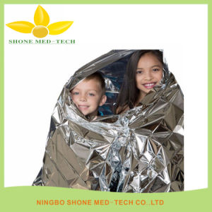 Waterproof Foil Mylar Thermall Rescue Emergency Space Blanket pictures & photos