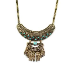 Fashion Bohemian Retro Exaggerated Tassels Pendant Necklace Jewelry pictures & photos