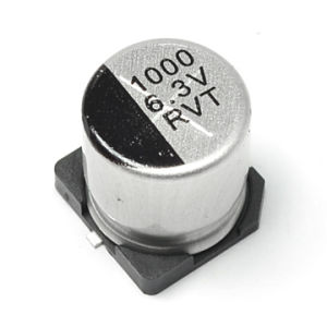 226m 6.3-25 25V SMD Aluminum Electrolytic Capacitor 105c (Ammo Package) pictures & photos