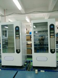 Coin and Bill Operated Vending Machine for Chocolate and Biscuit LV-205f-a pictures & photos