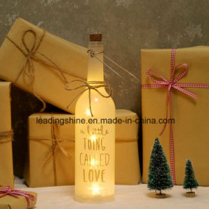 Battery Operated LED Light up Starlight LED Bottle Birthday Daughter Sister Friends Xmas pictures & photos
