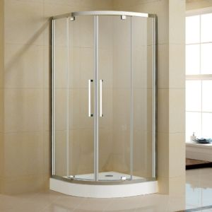 New Quadrant Shower Enclosure with One Pivot Door pictures & photos