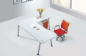 Cheap Office Desk Without Side Office Table Office Furniture Design Computer Desk pictures & photos