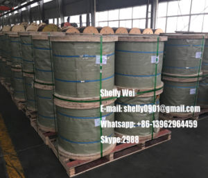 """1X7 Ehs 1/ 4 ′ 3/8"""" 5/16""""Galvanized Steel Cable Stay Wire Guy Wire ASTM A475 Class a pictures & photos"""