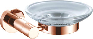 Bright Copper Stunning Bathroom Hardware Fittings Brass Soap Dish pictures & photos