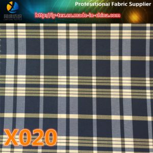 Polyester Check Fabric in Stock! Colorful Check Textile for Garment (X018-20) pictures & photos