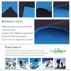 2017 Latest Design Fashion Polar Fleece and Bonded Fabrics for Jacket pictures & photos