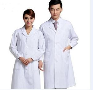 White Doctor Uniform 100% Cotton Female and Male pictures & photos
