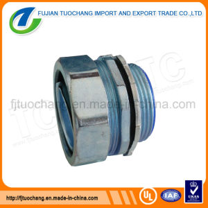 Zinc Plum Type Male Flexible Conduit Connector pictures & photos