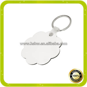 Cheap Price of Sublimation MDF Keychains From China pictures & photos
