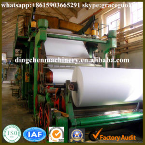High Precision 1575mm A4 Paper Copy Writing Paper Rolling Making Machine for Small Business pictures & photos