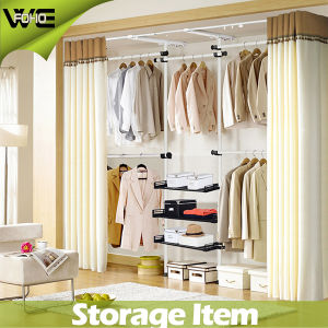 Foho Not Capped Bedroom Furniture Large Canvas Wardrobe pictures & photos