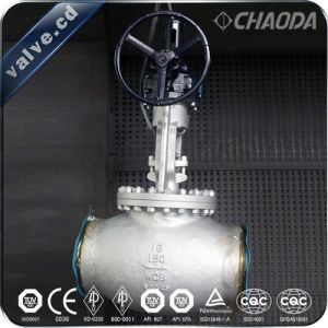 JIS Grade Cast Steel Globe Valve pictures & photos