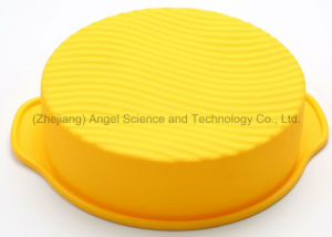 """Popular Holiday Gift 10"""" Chiffon Baking Tray Silicone Cake Mould Sc54 pictures & photos"""