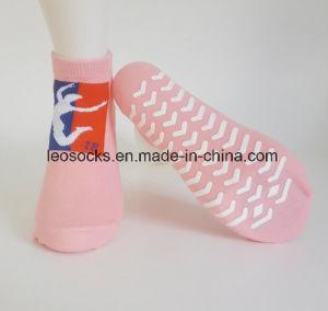 Yoga Trampoline Anti Slip Jump Pilates Non Slip Socks pictures & photos