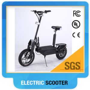 Green-01 14 Inch Big Wheel Hub Motor Electric Scooter 36V 800W pictures & photos