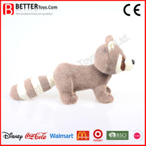 Lifelike Plush Toy Soft Stuffed Animals Raccoon for Baby Kids pictures & photos
