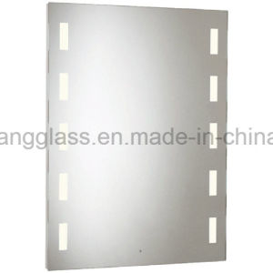 Elegant European Style LED Frameless Bathroom Mirror with Lights pictures & photos