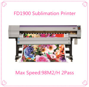 1.8m Large Digital Dye Sublimation Printer for Fabric pictures & photos