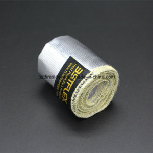 High Temperature Aluminum Coated Heat Reflecting Kevlar Sleeve pictures & photos