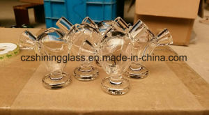 Shining Glass 6cm Tall Egg Styles Martian Glass Bubbler for Blunt pictures & photos