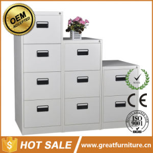 Anti-Tilt Central Locked Knock Down 2/3/4drawer Metal Parts Drawer Cabinet/Steel File Cabinet pictures & photos