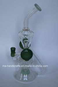 "12"" Glass Recyler Smoking Boro Glass Bubbler/Water Pipes DAB Rigs Oil Rigs pictures & photos"