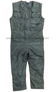 Padded Polyester Winter Waterproof Work Wear Workwear Overall Coverall (WW01) pictures & photos