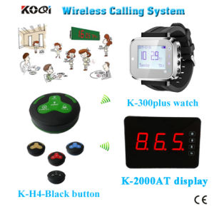 Wireless Quest Number Calling System for Restaurant with Call Button pictures & photos