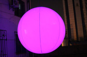Lighting Inflatable PVC Balloon for Decoration pictures & photos