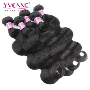 Natural Color 100% Indian Virgin Hair Weft pictures & photos