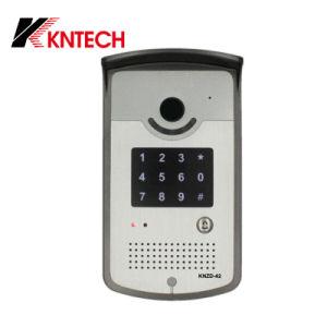 IP Door Phone Knzd-42 SIP Door Intercom pictures & photos