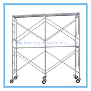 Cangzhou Manufacturer Construction Steel Walk Through Scaffolding Frame System (WMF-1219) pictures & photos