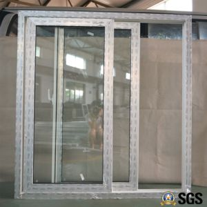 UPVC Profile Sliding Window with Crescent Lock, UPVC Window, Window K02093 pictures & photos