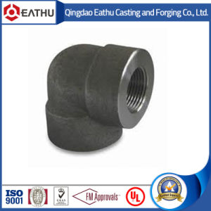 ANSI B16.11 Forged Steel 90&45 Degree Elbow with NPT Thread pictures & photos