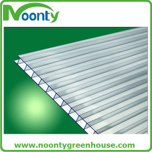 Polycarbonate Hollow Sheet for Venlo Greenhouse pictures & photos