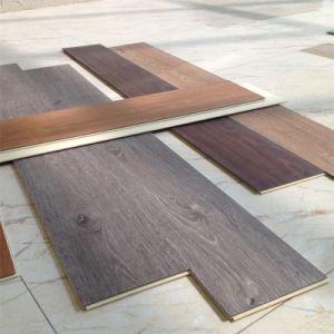 7mm Wood Grain WPC Indoor Vinyl Floor pictures & photos