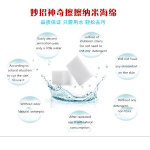 Multi-Functional Nano Clean Sponge Magic Cloth Cleaning Eraser pictures & photos