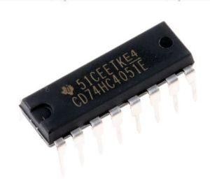 CD74hc4051e 74hc4051n 74hc4051 8-Channel Analog Multiplexer/Demultiplexer IC pictures & photos
