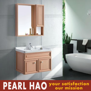 Modern Solid Wood Bathroom Cabinets Wholesale pictures & photos