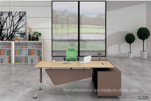 Modern Executive Desk L Shape Modular Office Furniture (HF-FB2122B) pictures & photos